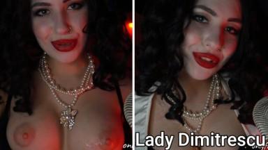 jerk with Lady Demitrescu ASMR by bellamur cosplay resident evil porn